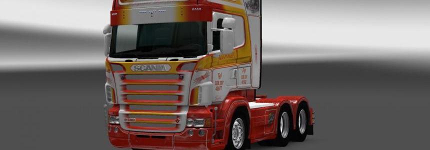 Scania RS RJL McConaghy R500 Skin