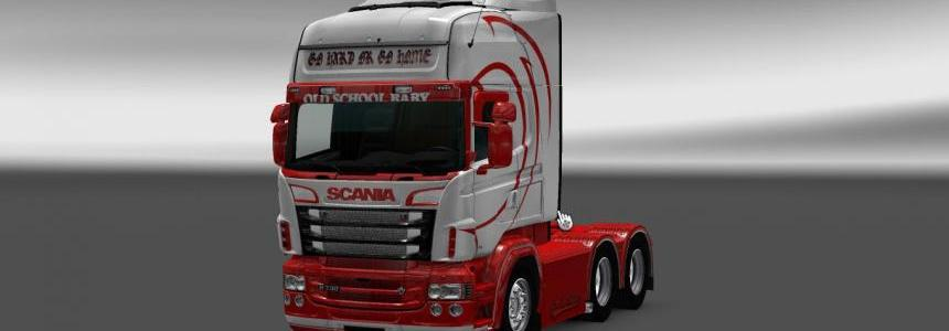 Scania RS RJL Old School Baby Skin