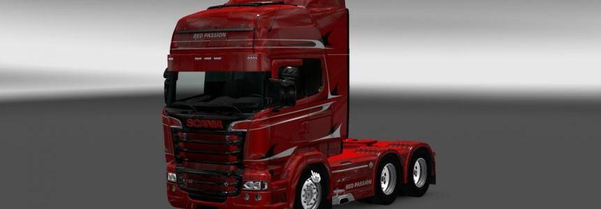 Scania RS RJL Red Passion Skin