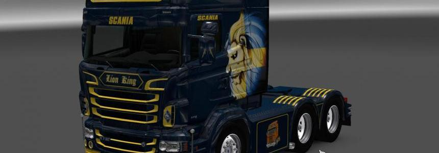 Scania RS RJL Swedish Lion Skin
