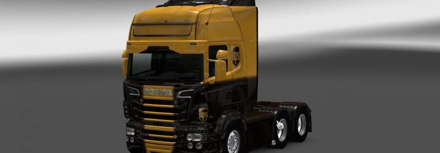 Scania RS RJL UPS Skin