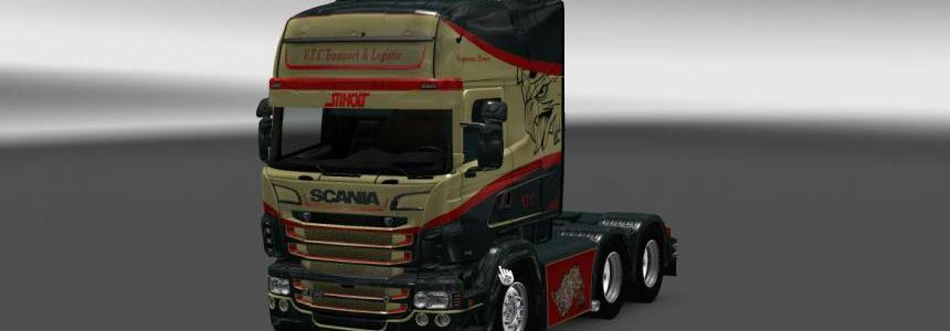 Scania RS RJL V.T.C. Transport Skin