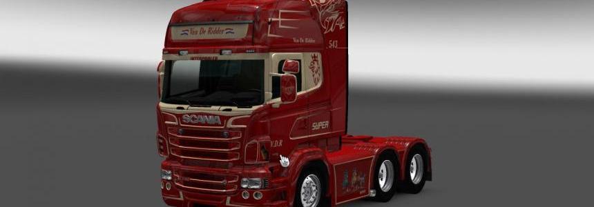 Scania RS RJL Van De Ridder Skin