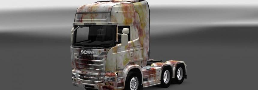 Scania Streamline Abstract Skin