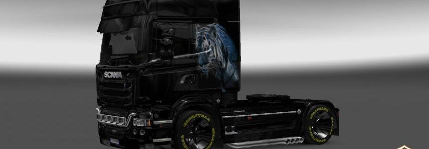 Scania Streamline Bars Skin 1.22
