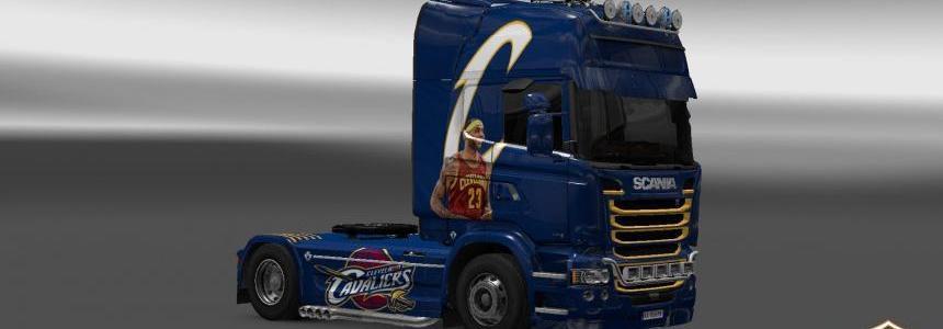 Scania Streamline Cleveland Cavaliers Skin