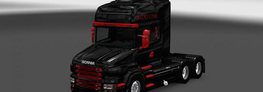 Scania T RJL MDD Line Skin