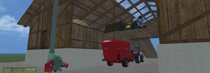 Shed with hay blower v1.0