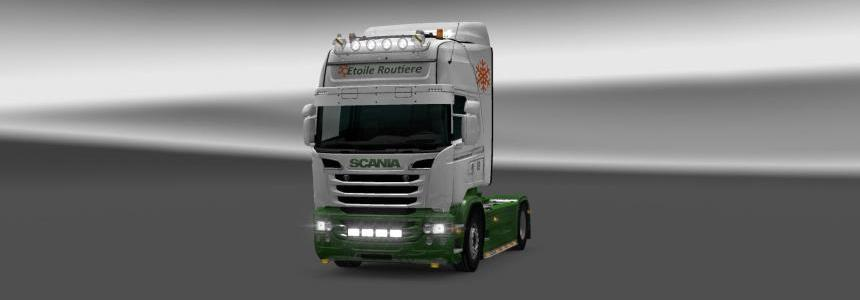 Skin Etoile Routiere for Scania RJL 1.22