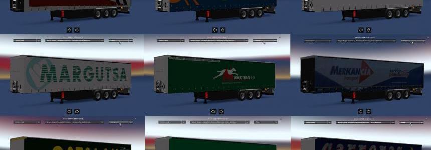 Spain Trailers Pack v1.0