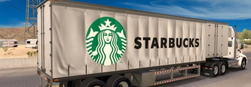 Starbucks Curtain standalone trailer