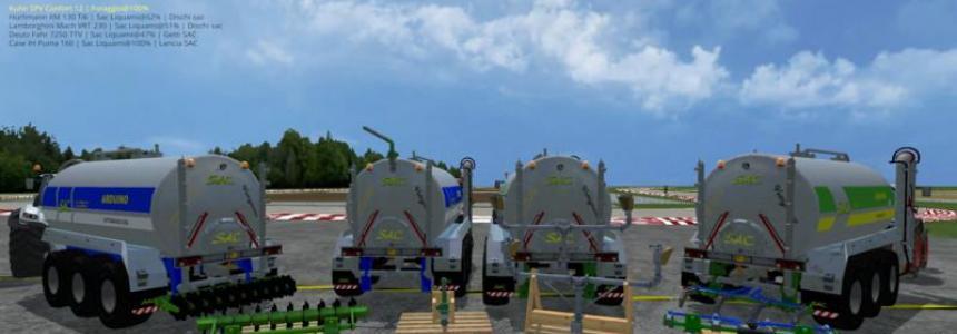 Tanker Liquid Manure tipo b390AM v1.0