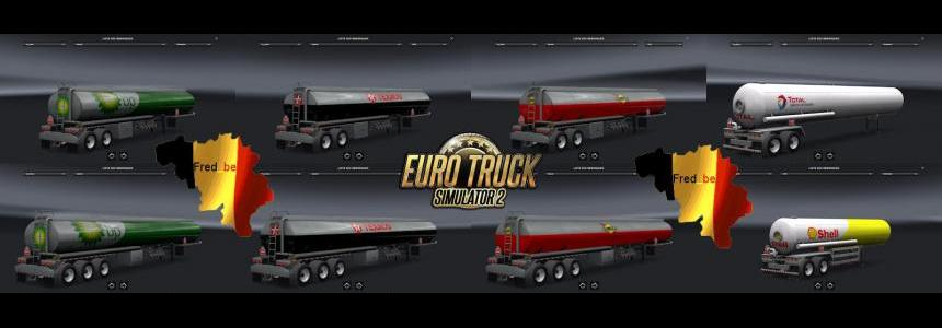 Trailer Pack Cistern ATS for ETS2 (Standalone)