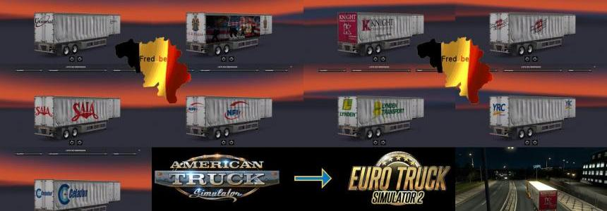 Trailer Pack Curtain ATS for ETS2 1.22.x