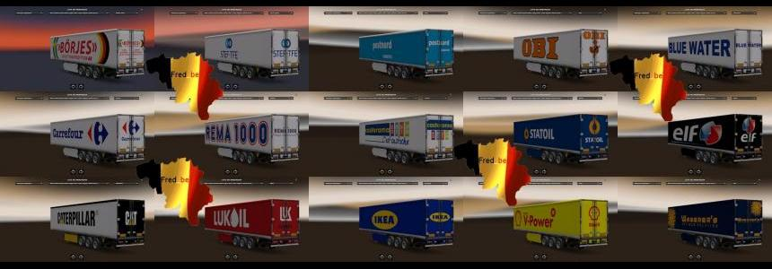 Trailer Pack Fridge (Replaces) 1.22.x