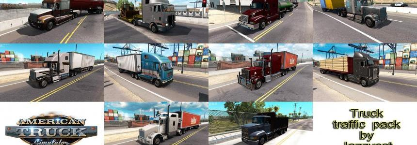 Truck Traffic Pack by Jazzycat  v1.0