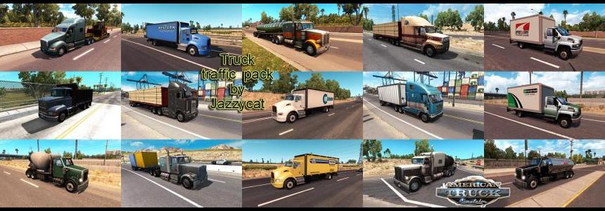 Truck Traffic Pack by Jazzycat v1.2.1