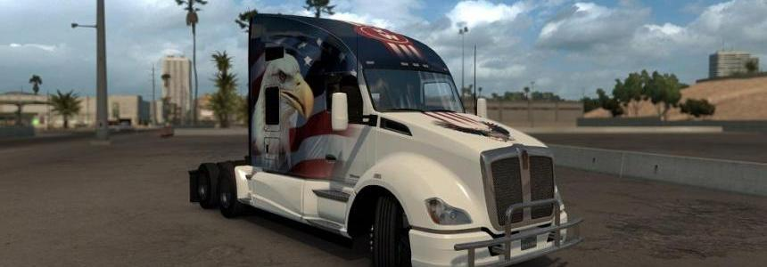 U.S.A. Eagle Truck skin for Kenworth T680 2.01