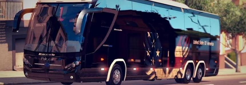 USA Skin For Mascarello Roma BUS
