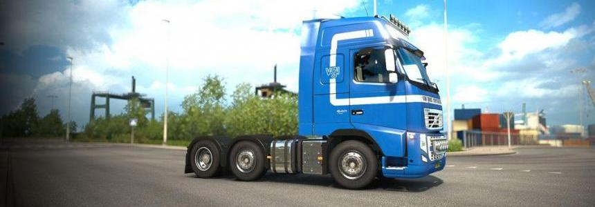 Van Geest International Volvo FH13 Peerke skin + lightbox