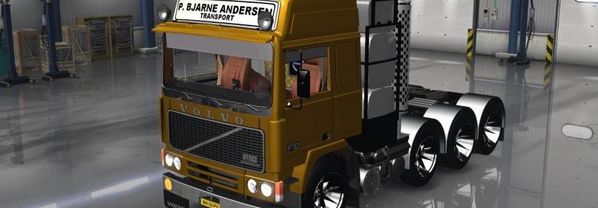 Volvo F10 8x4 Heavy Transporter v1