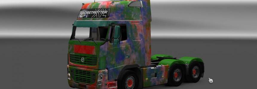 Volvo FH 16 & 2013 Abstract Skin