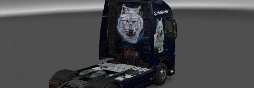 Volvo FH 2012 Wolf Skin 1.22