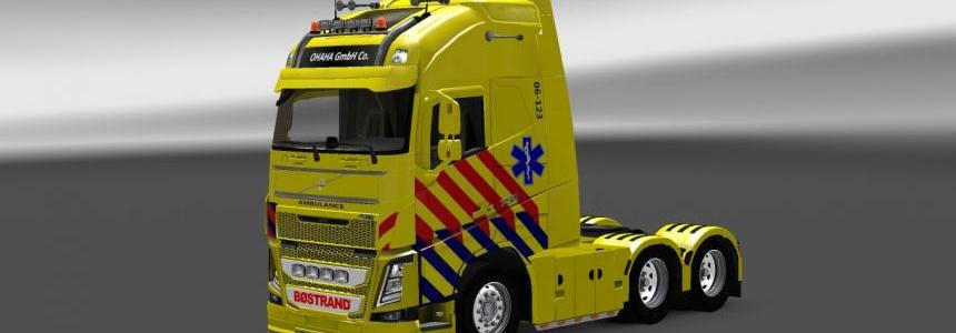 Volvo FH 2013 Ambulance Skin