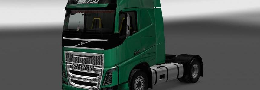 Volvo FH16 2012 Interior/Exterior Rework v1.1