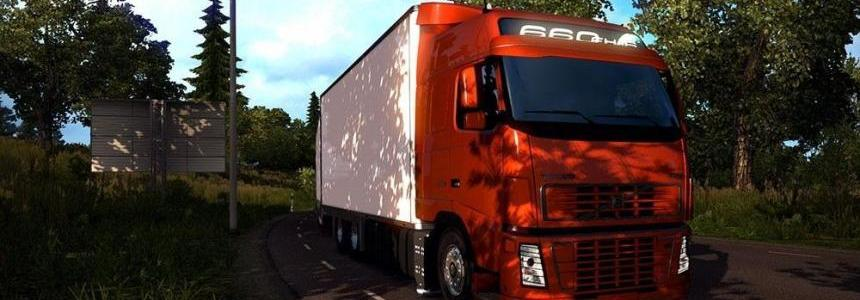 Volvo FH16 + Tandem v1.5