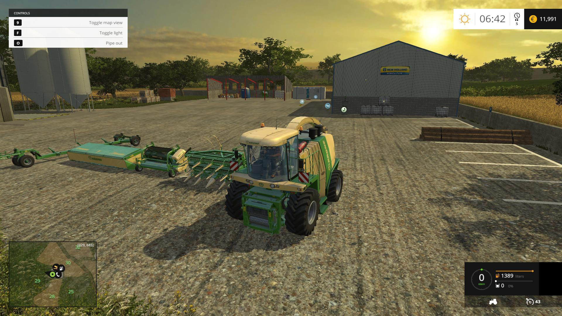 Orchard Farm V Modhubus - Farming simulator 2015 us map feed cows