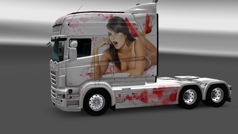 Scania Rs Rjl Longline Beautiful Girls Skin Wiring Diagram Car Horn Relay 0