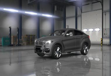 ATS BMW X6M 2015 + BambiTrailer v2.0