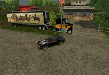Bandit Truck Trailer and Car v1.0