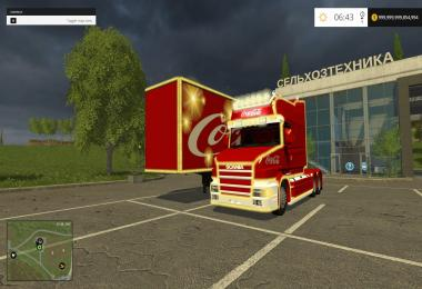 Coca Cola Truck + Trailer Pack v2.0