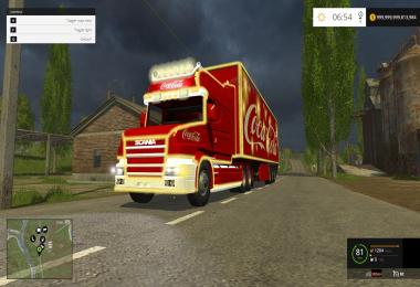 COCA COLA TRUCK + TRAILER PACK v3.0