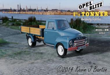 Opel Blitz flatbed 56 v1.1.2