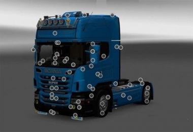 Scania R & Streamline Mega Mod v5.0