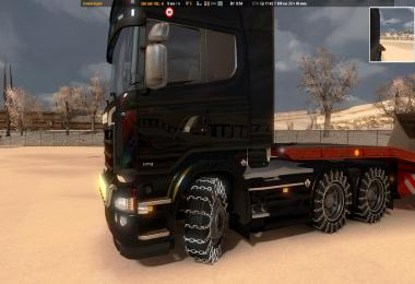 Wheels with chains 1.22