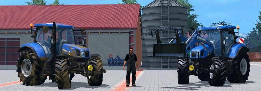 New Holland T6.160 v1.0