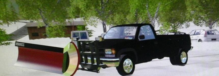 1994 Chevy 3500 plow truck V1