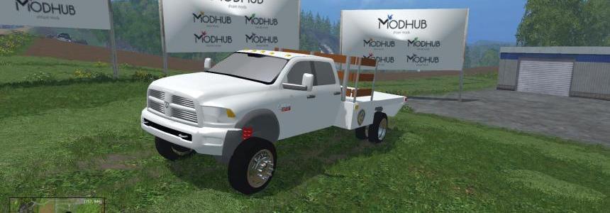 2015 Ram 5500 Stake Truck v1