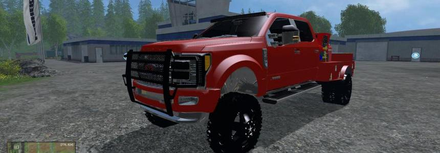 2017 Ford F-450 Welding Rig v1