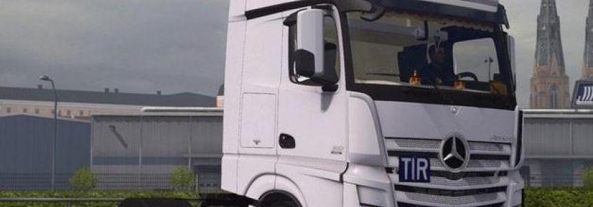 Mercedes Actros MP4 1.22.x