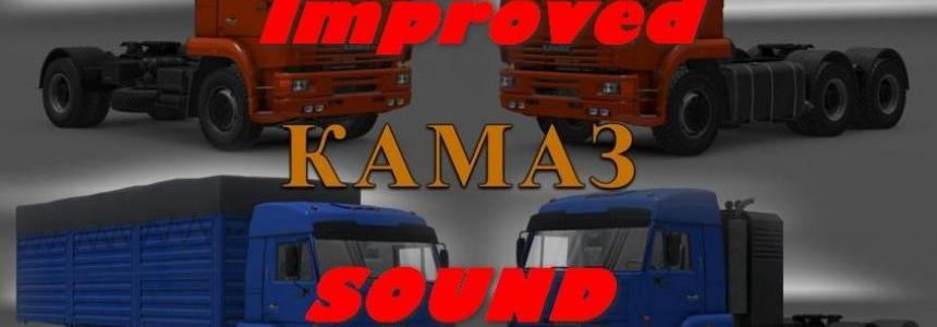 Kamaz 54-64-65 Addon Improved Sound 1.22.x