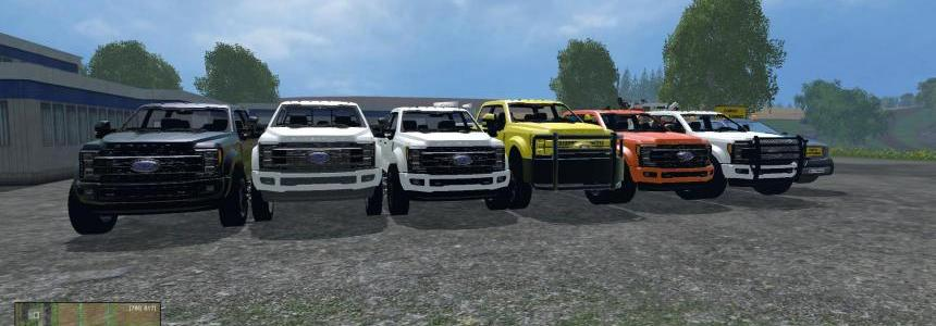 All 6 versions 2017 Ford F450 Dually v1.0