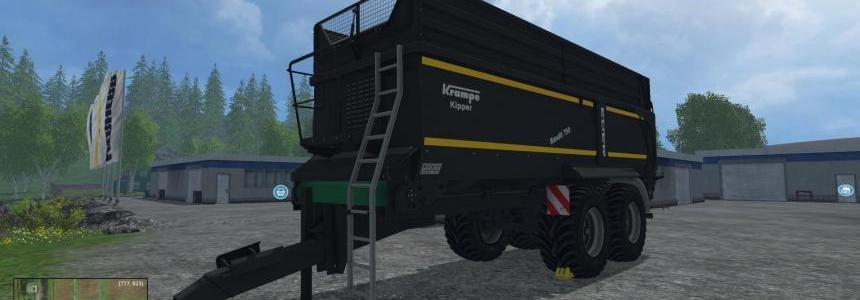 Krampe Bandit 750 Black Trailer v1