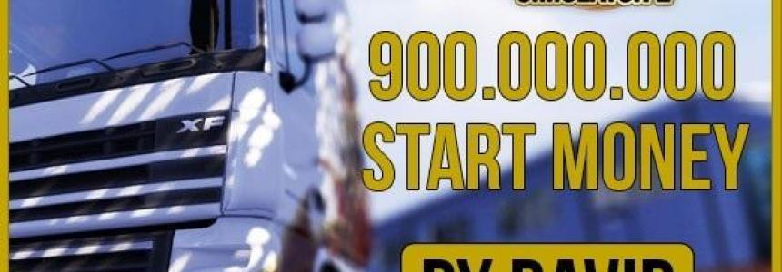 900 000 000 Start Money by David