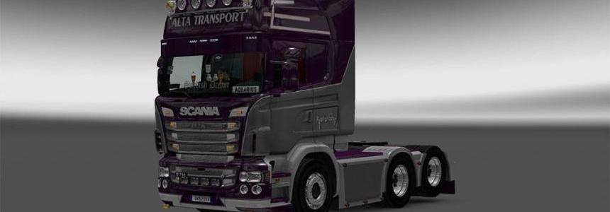 Alta Transport Scania Rjl skin