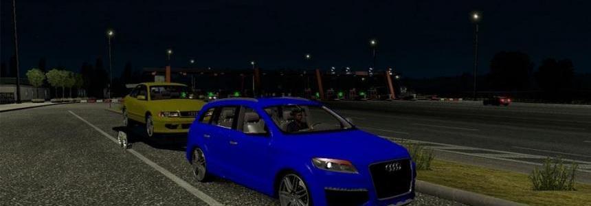 Audi Q7 + Trailer